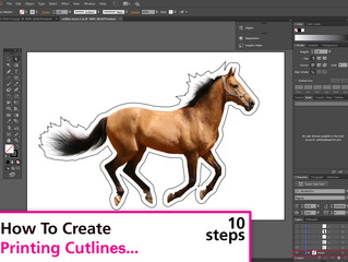 Creating Cut outlines on Illustrator