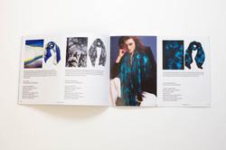 Saddle stitched landscape booklet