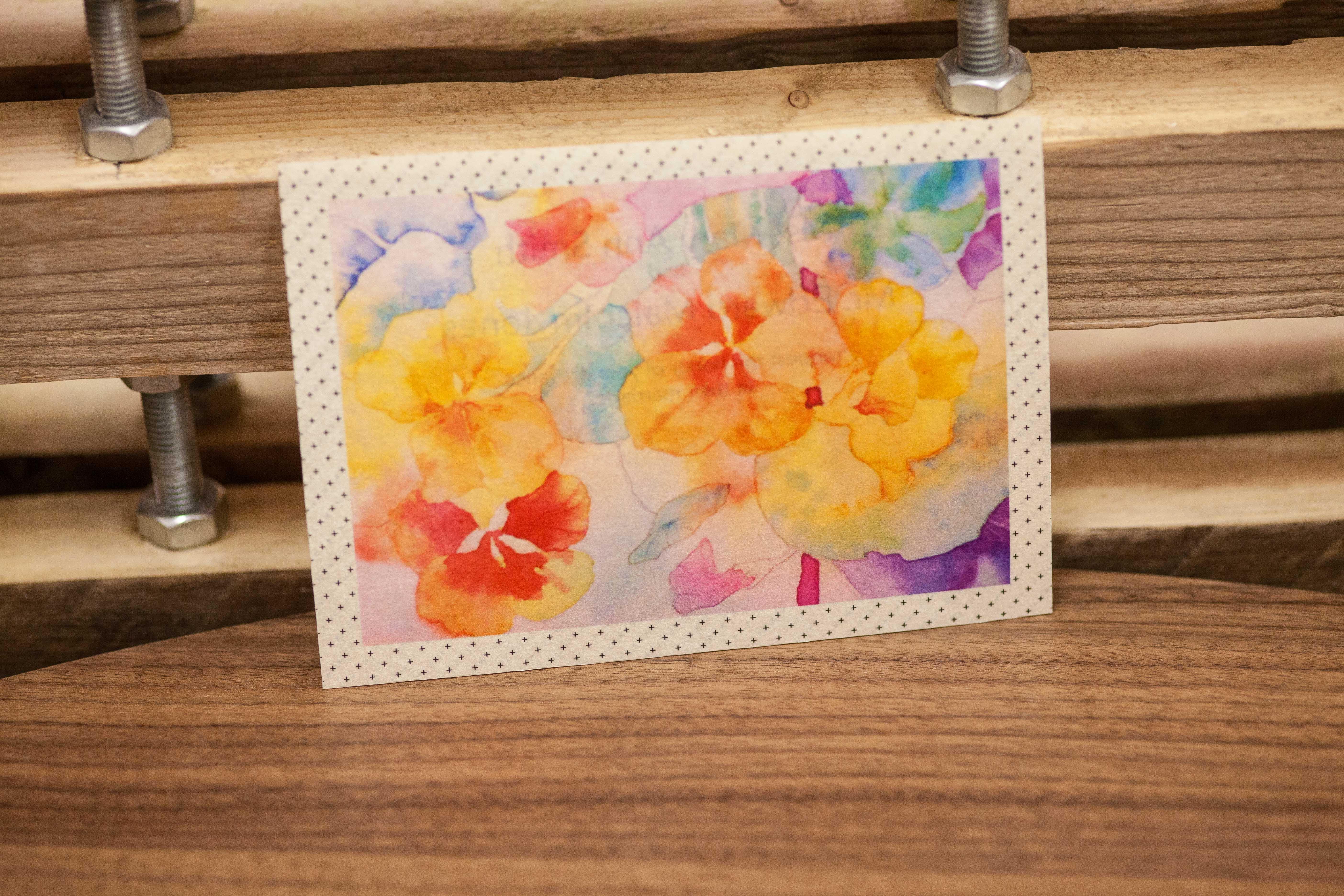 Insert for Summer Flowers Inviate