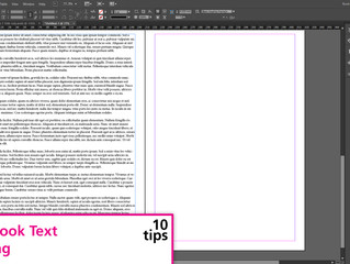 10 Timesaving Tips for Book Design