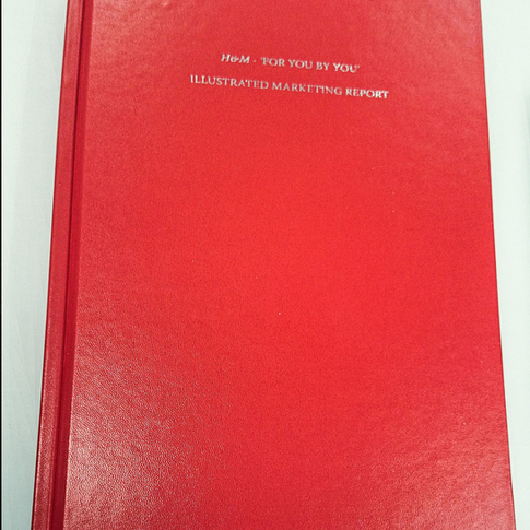 Hard cover bound diseration
