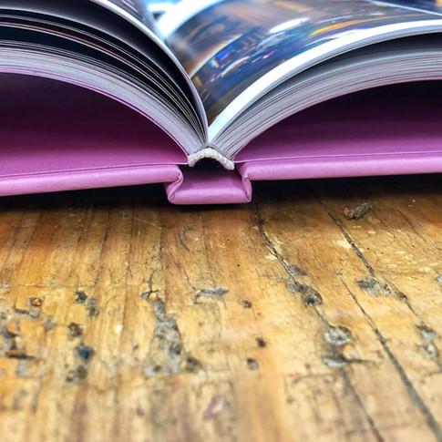 Custom case bound book