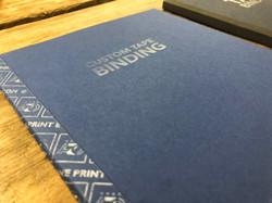 Custom tape binding