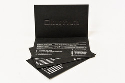 Embossed and foiled cards