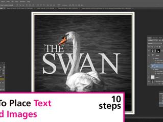 Placing Text Behind An Image