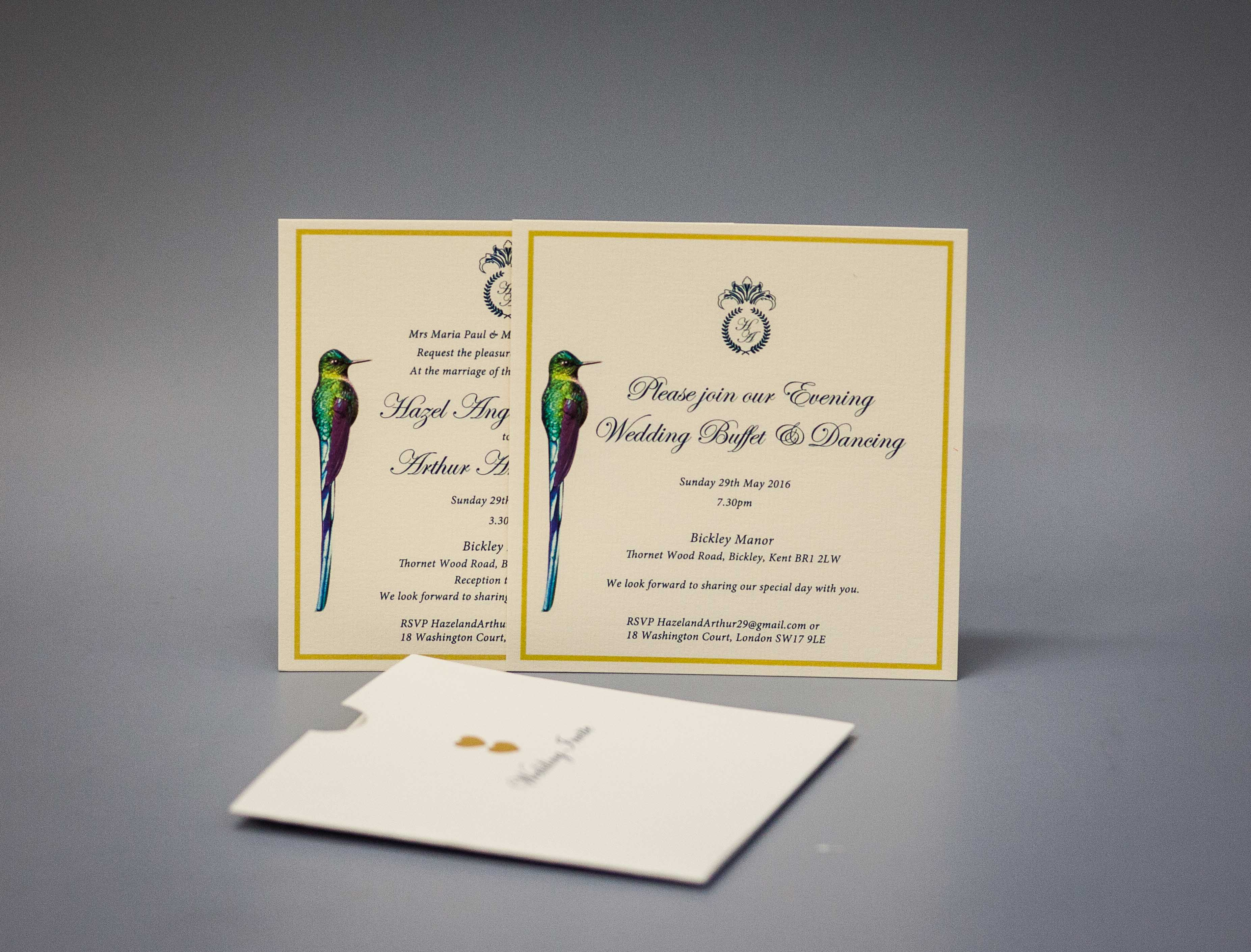 Cards with custom envelope