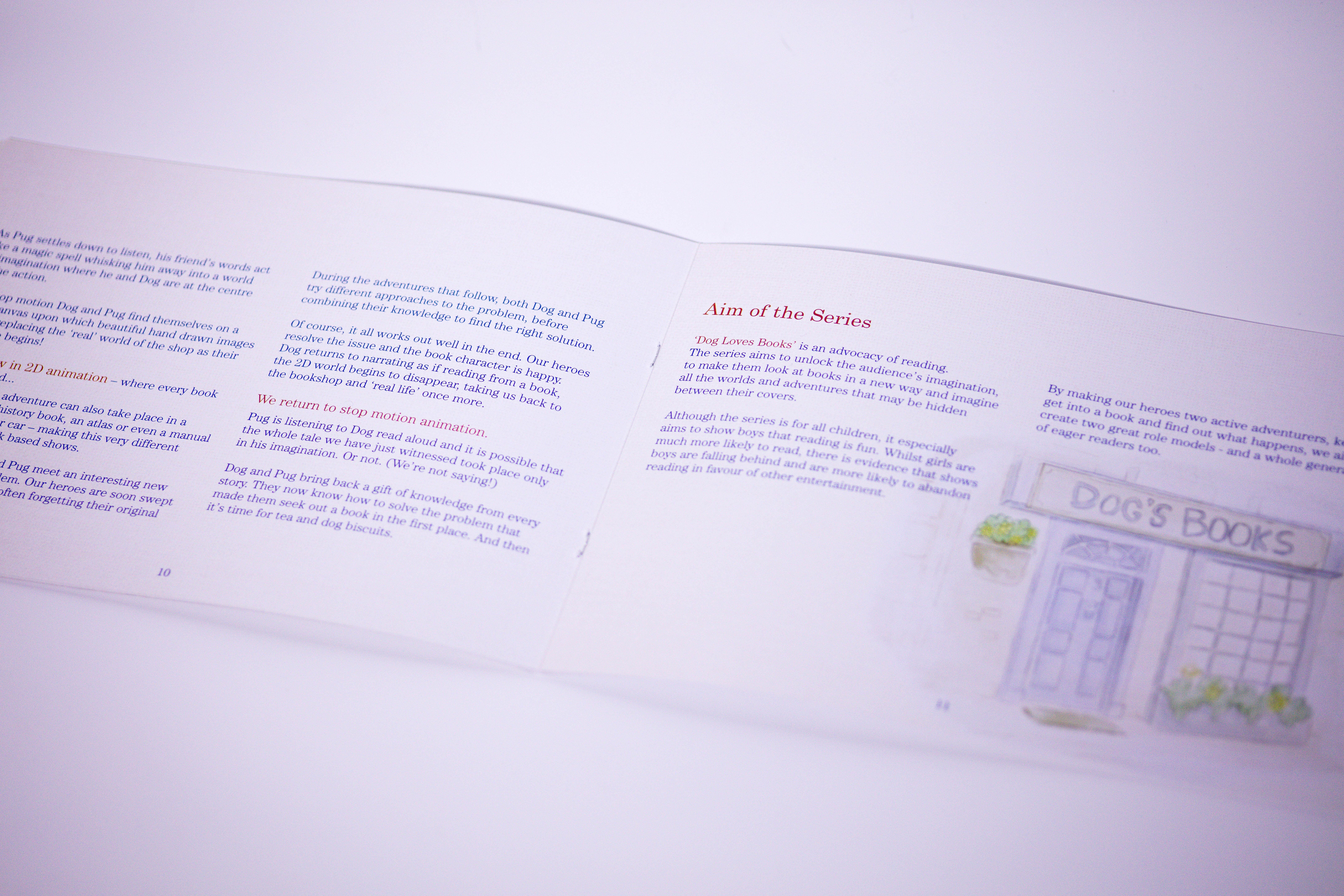 landscape A5 booklet