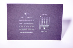 white ink printing on invitations