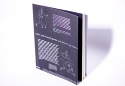 white ink printing book cover