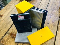 Custom bound books with box