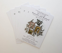 Double sided postcards