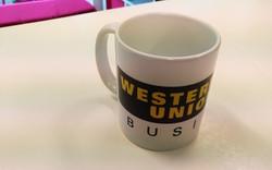 Ceramic white WU mug