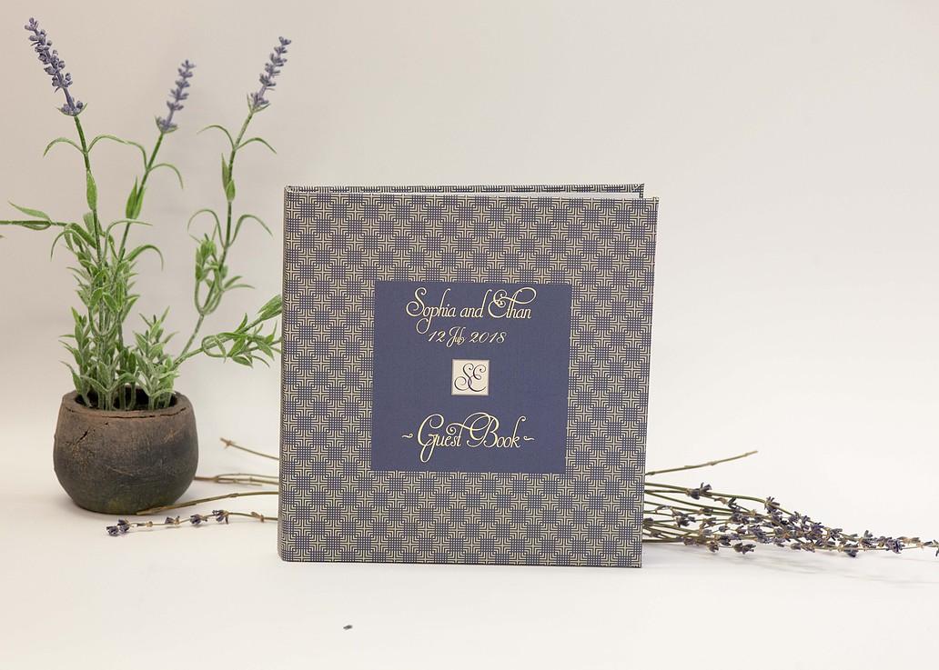 Lavander custome case book