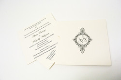 die cut wallet for wedding invite