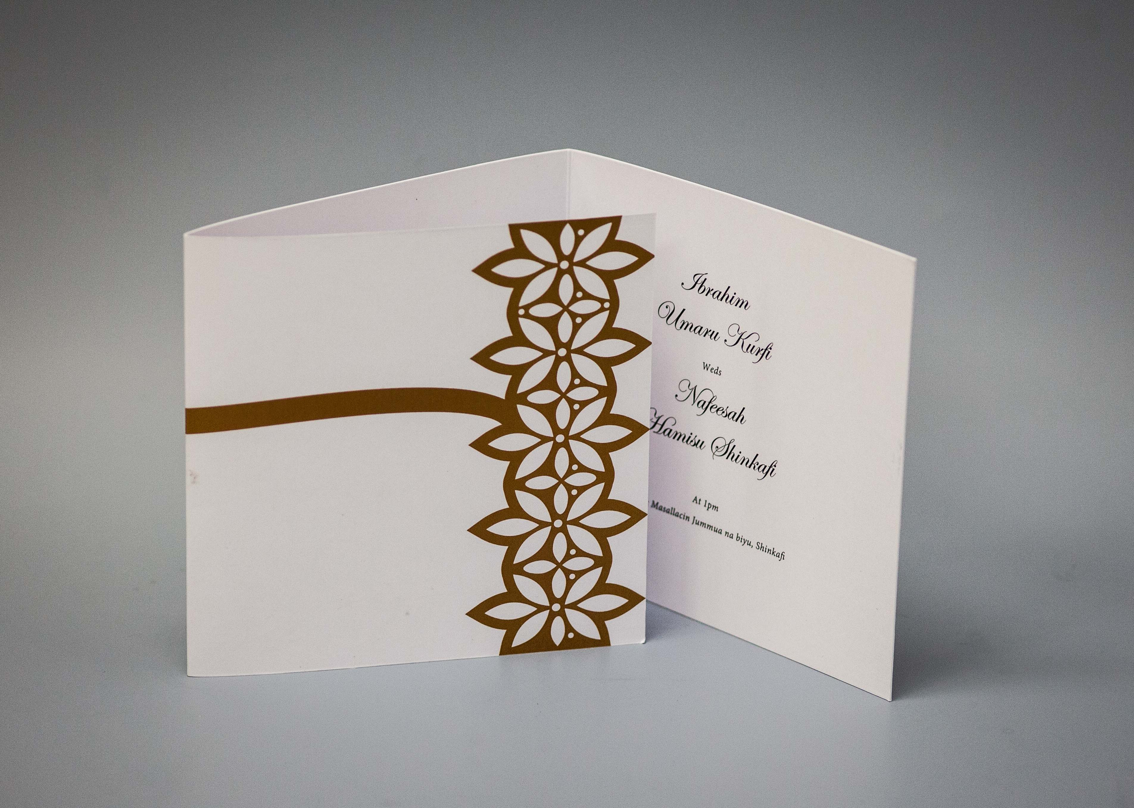 2 fold invitation