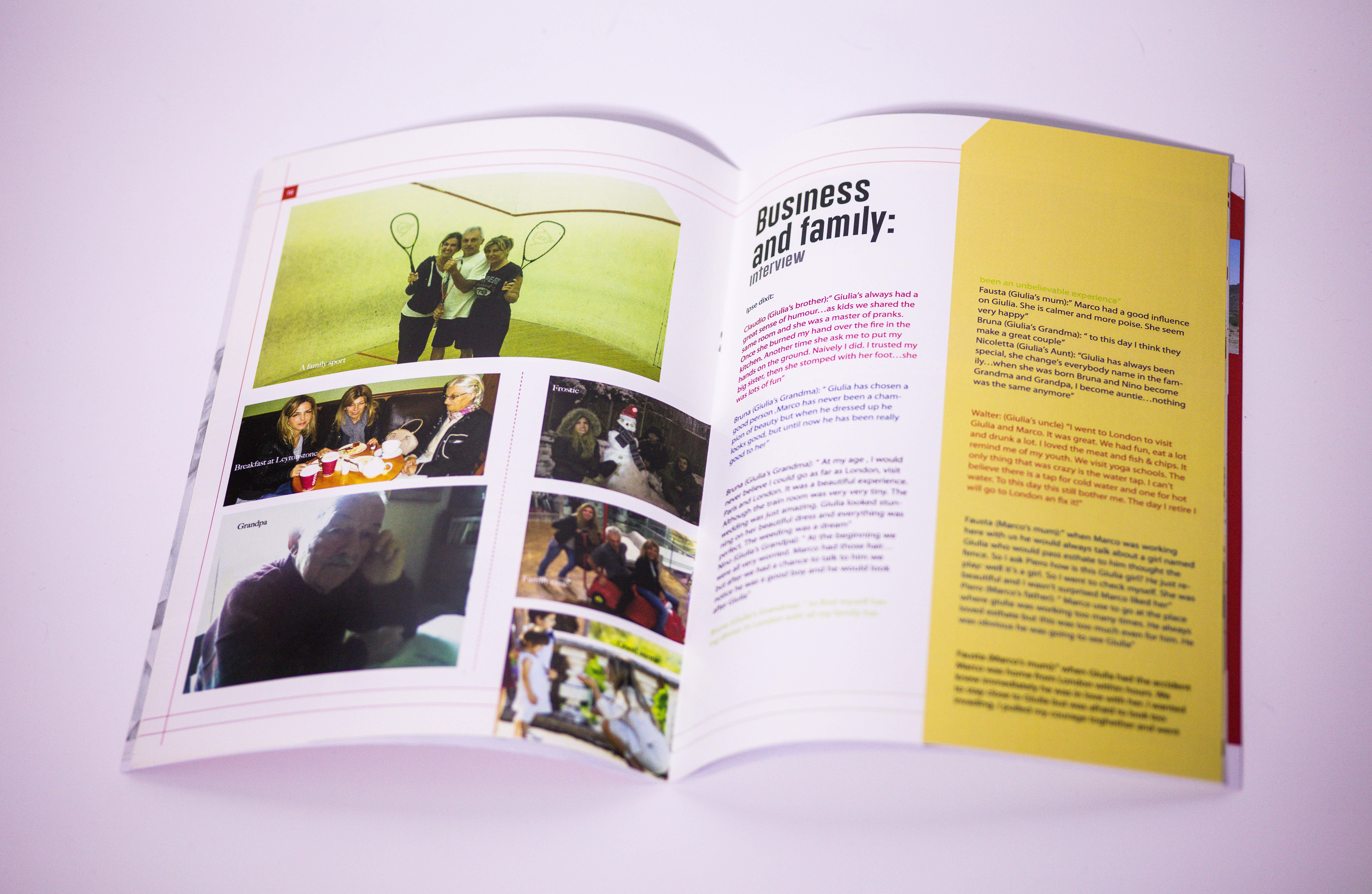 Magazine/Journal type booklet