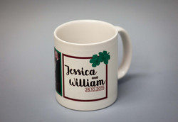 Wedding souvenir mug