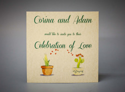 Wedding invitation - Marina Conchigl