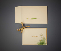 Hand illustrated invitation
