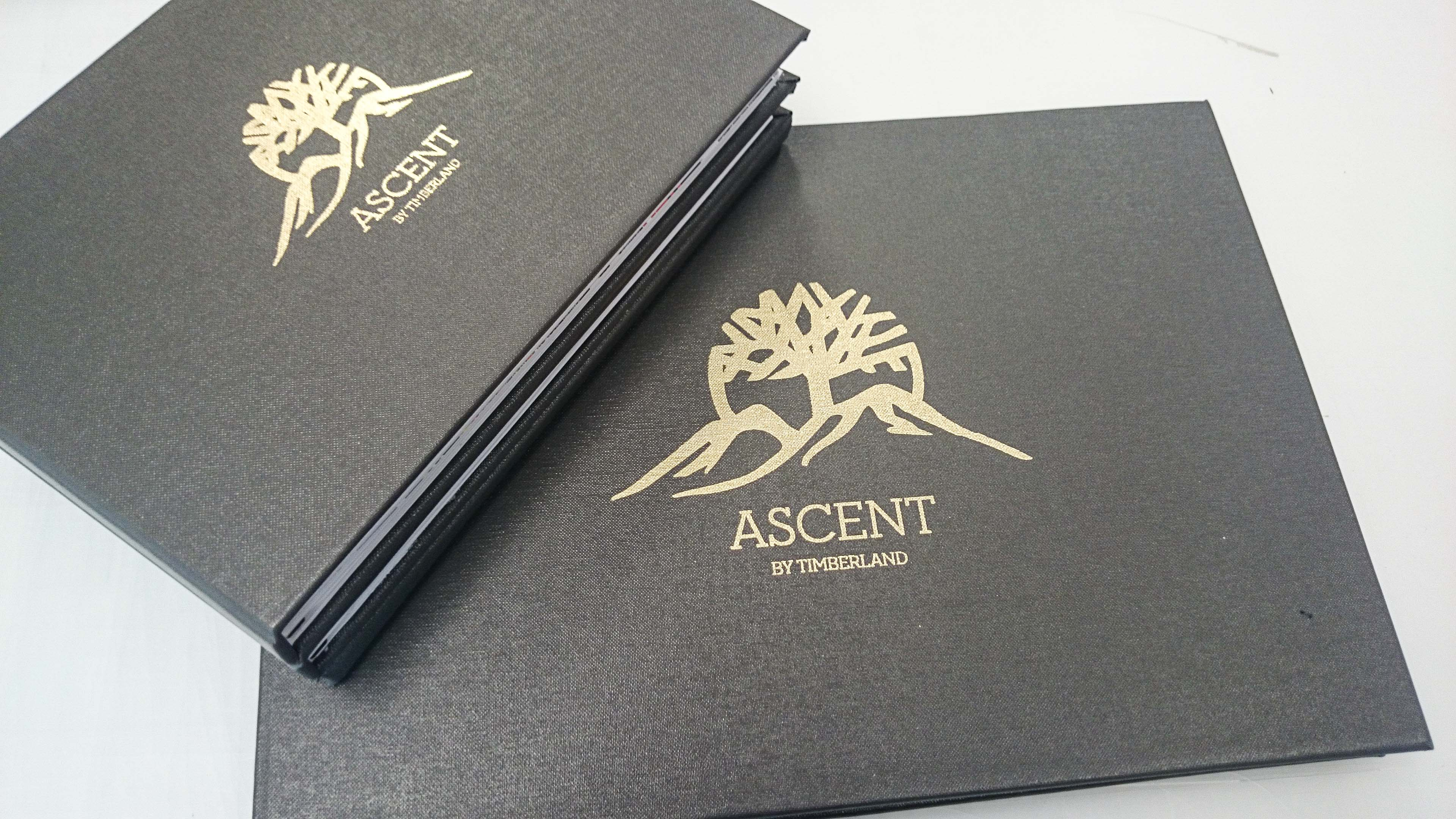 Custom case bound books