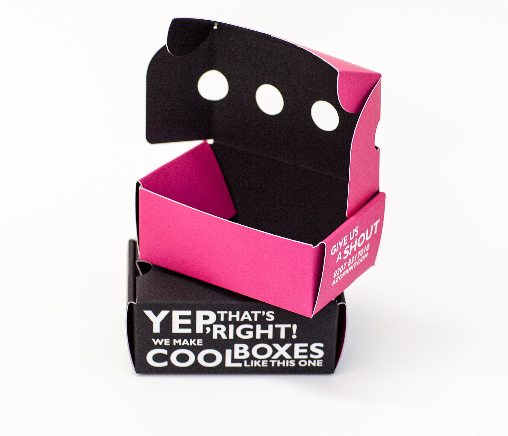 die cut business card boxes