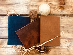 Leather & Denim Hard cover books