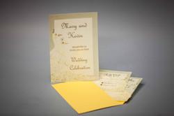 Invitations on Pergamenta Naturale