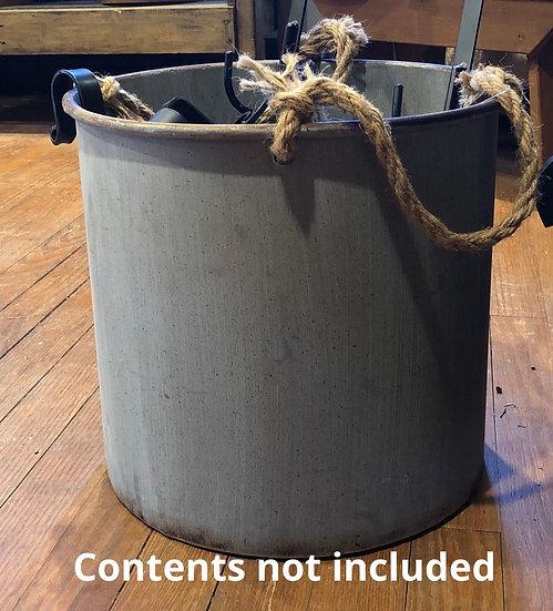 OLD ROUND TUB LARGE
