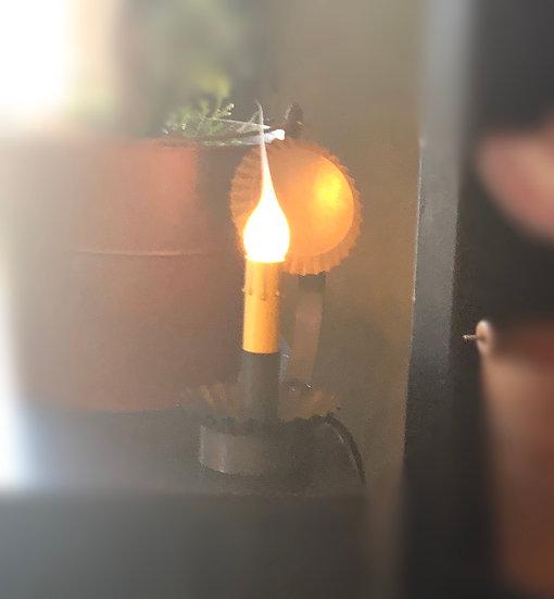 CABIN CHAMBERSTICK W/ REFLECTOR
