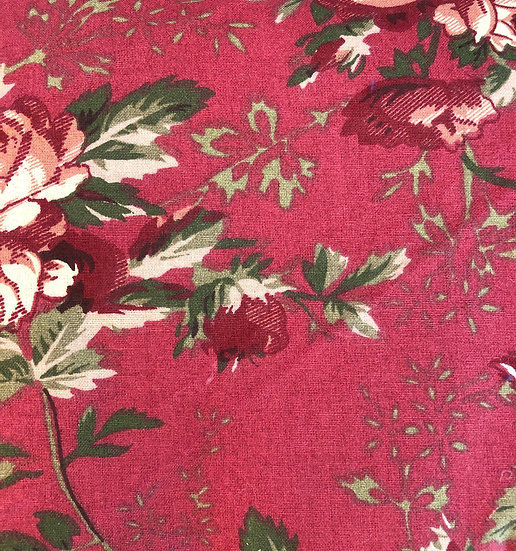 Crimson Rose round tablecloth