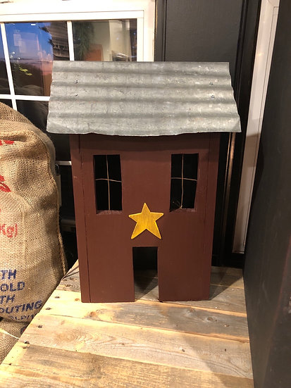 RUSTIC LIGHT UP HOUSE