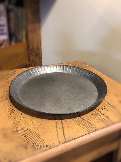 """10.75"""" FLUTED TIN PAN"""