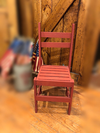 WOOD CHILDS CHAIR
