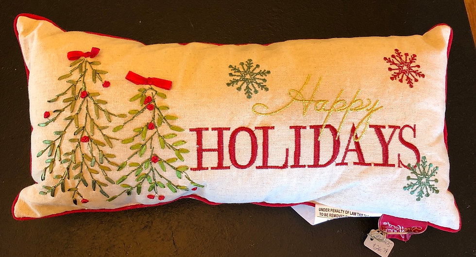 SMALL HOLIDAY PILLOW