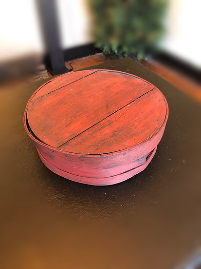 WOODEN CHEESE BOX
