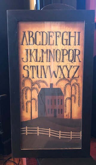 ABC Saltbox print