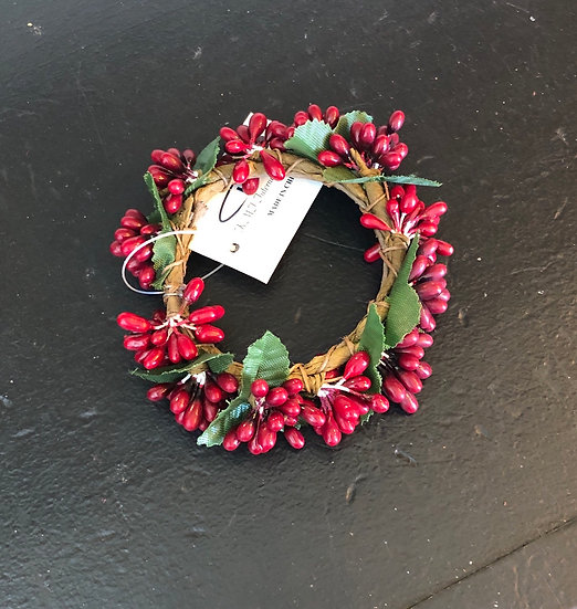 """1.5"""" BERRY CANDLE RING"""