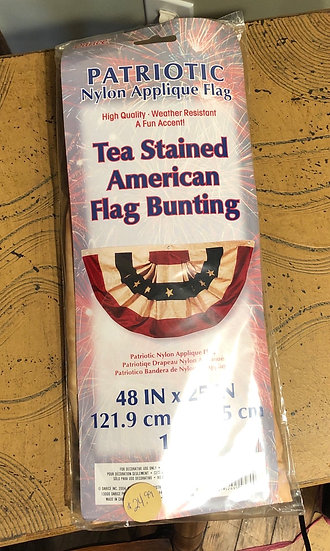 Tea Stained Bunting