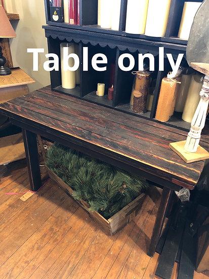 RUSTIC PRIM TABLE