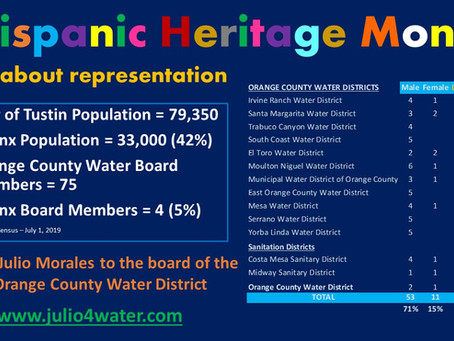 Latinx Representation on Water Boards is Only 5%