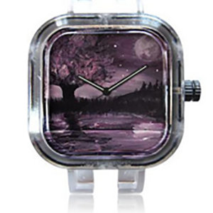 Purple Reflection Watch(Face Plate Only)