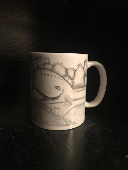 Blue Whale of Catoosa Mug