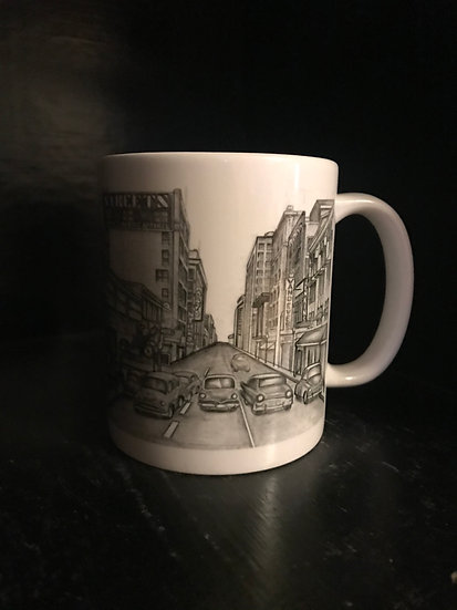 1950's Tulsa Mug