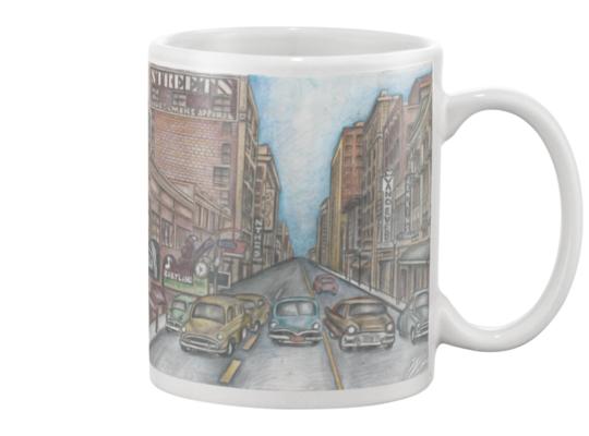 1950's Tulsa Mug(Color) Mug
