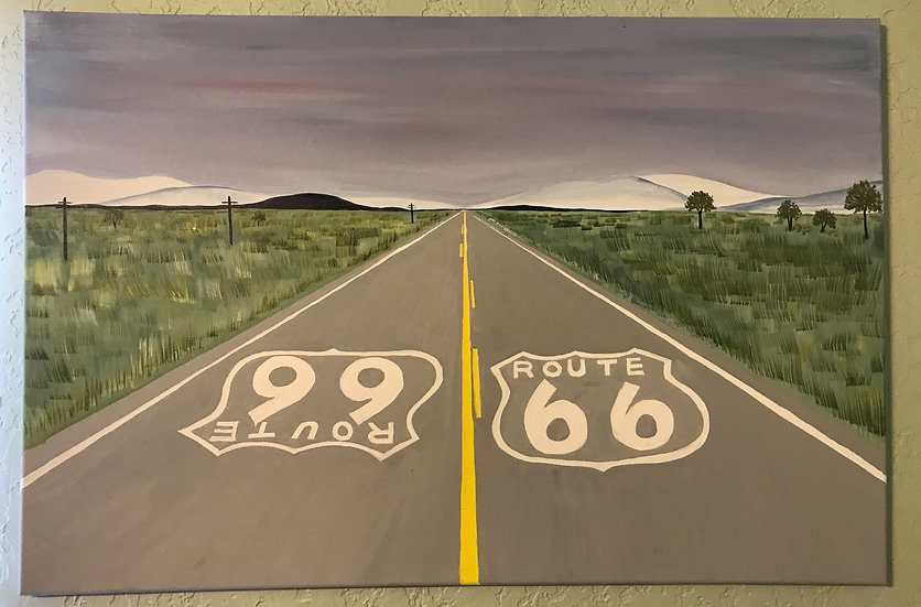 Hilly Route 66