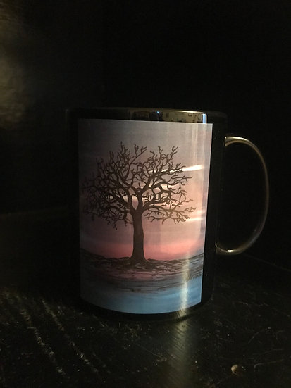 Sunset Tree Mug
