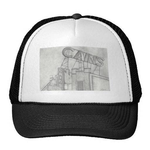 Cain's B&W Trucker Hat