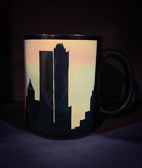 Cotton Candy Tulsa Skyline Mug