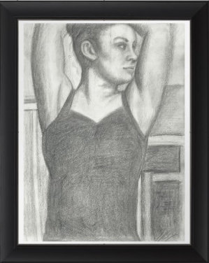"""The Dancer"" 8.5""x11"" Print w/ Frame"