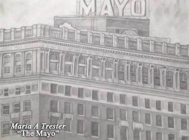 """""""The Mayo"""" 18""""x24"""" Print w/ Frame"""